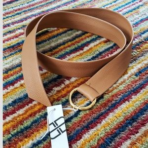 """NWT B-LOW THE BELT Mia synthetic """"leather"""" belt"""